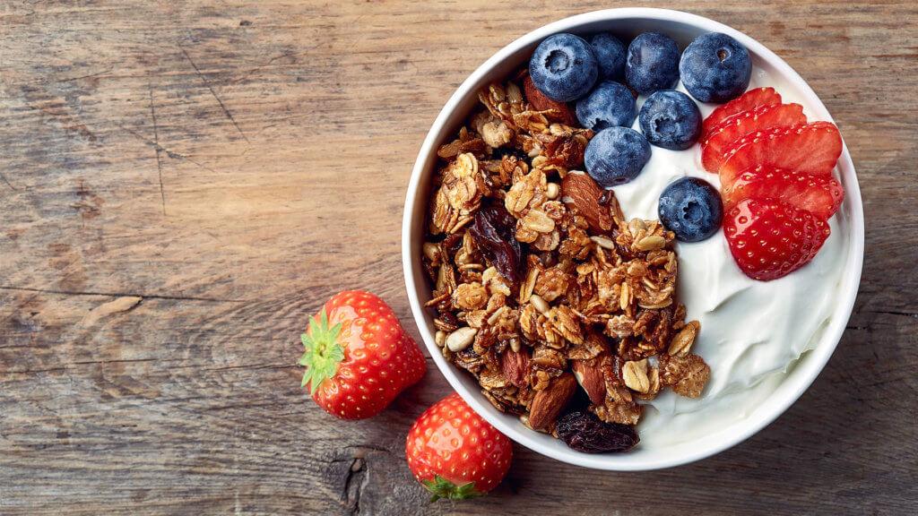 Frühstücksfrüchte zum Abnehmen