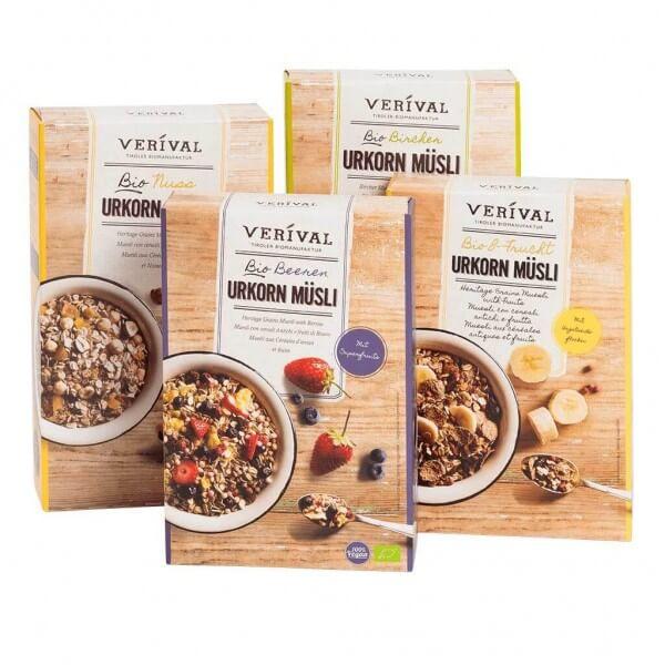 Verival Frühstückspaket Urguten Morgen mit Verival Weizen