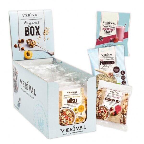 Verival Breakfast Sample Box