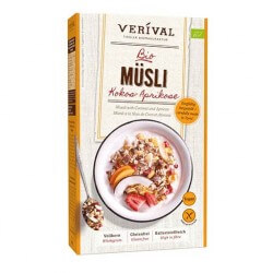 Muesli with Coconut and Apricots