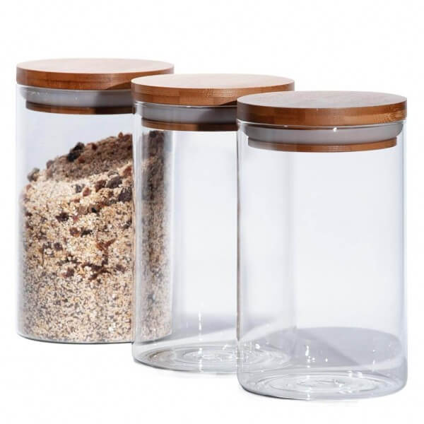 Breakfast Storage Containers (3x)