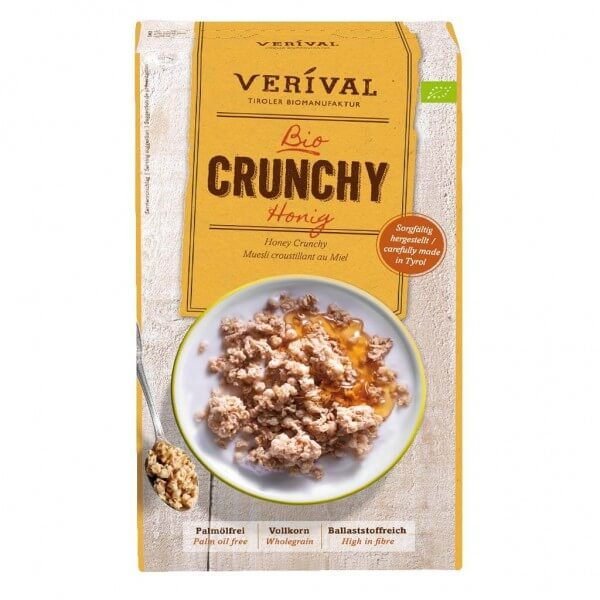 Verival Honey Crunchy 375g