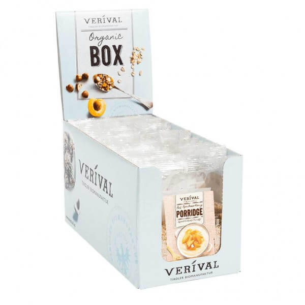 Verival Cereal-Box Marille-Honig Porridge 12x 55g