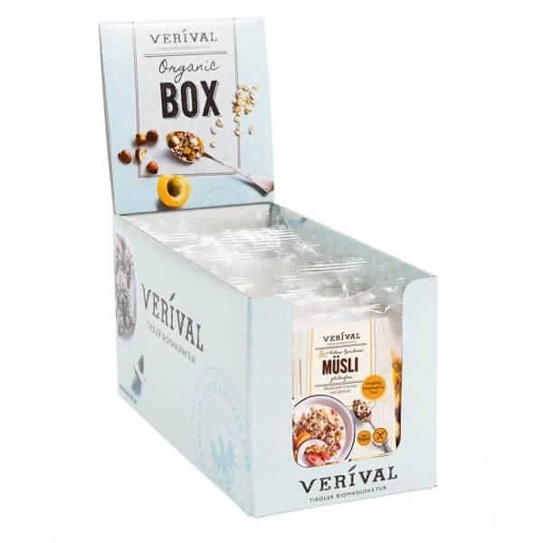 Verival Cereal Box Coconut-Apricot Muesli 12x 40g