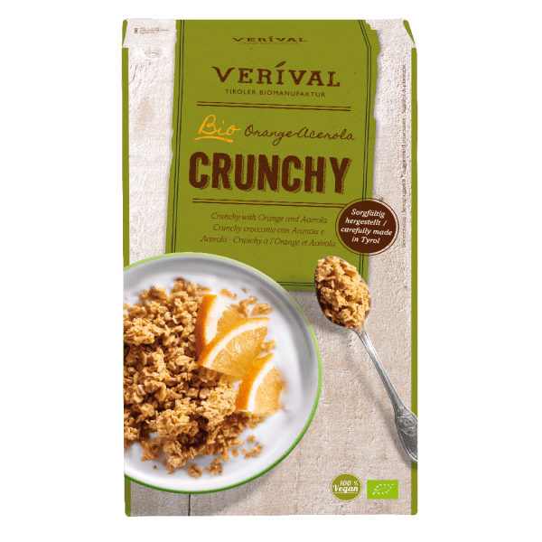 Verival Orange-Acerola Crunchy 325g