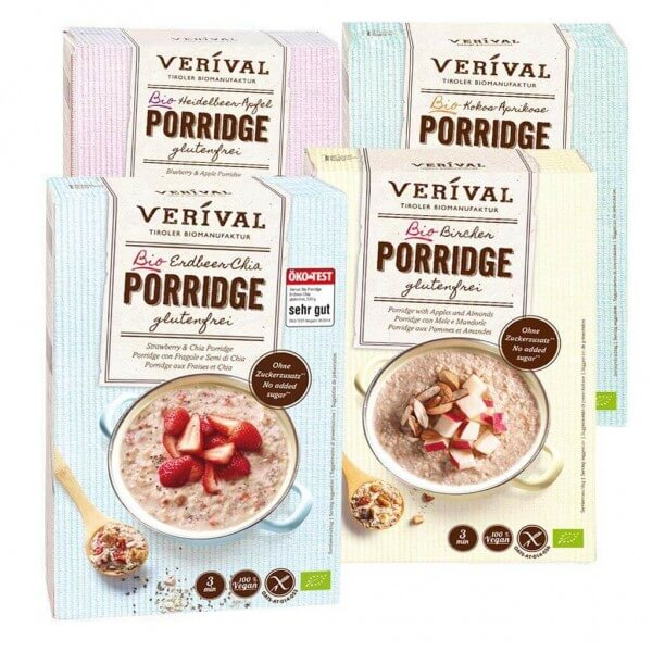 Porridge Value Pack gluten free