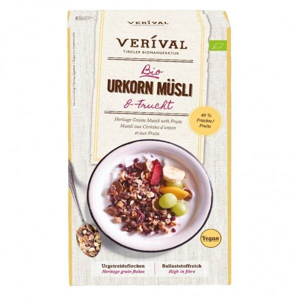 Heritage Grains Muesli with Fruits
