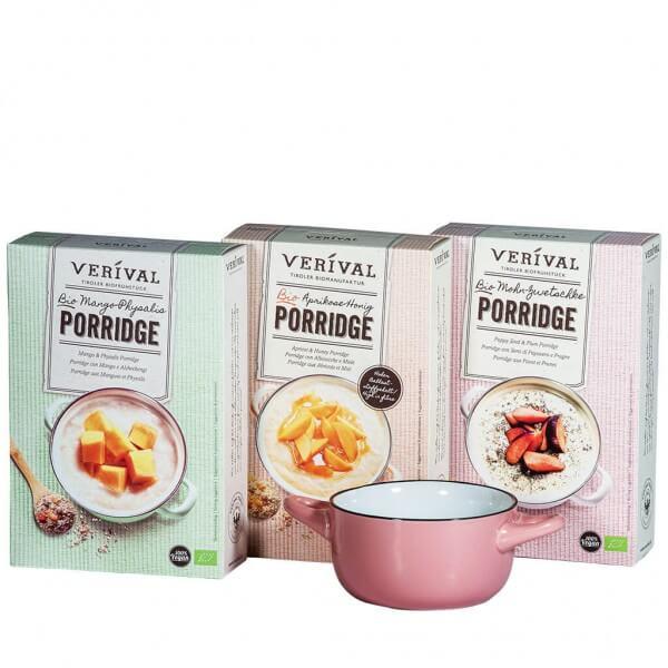 Verival Geschenkset fruchtiger Porridge rosa