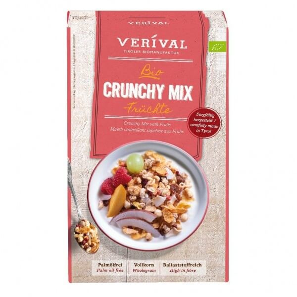 Verival Crunchy Mix with Fruits
