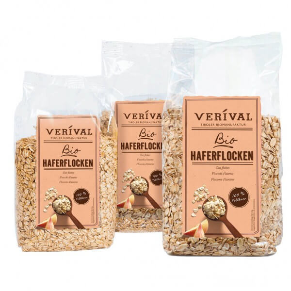 Verival 3-pack Oat Flakes (3x 500g)