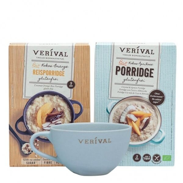 Exotischer Porridge-Geschenkset