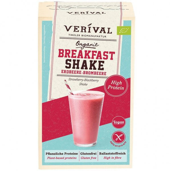 Verival Breakfast Shake Strawberry-Blackberry 280g