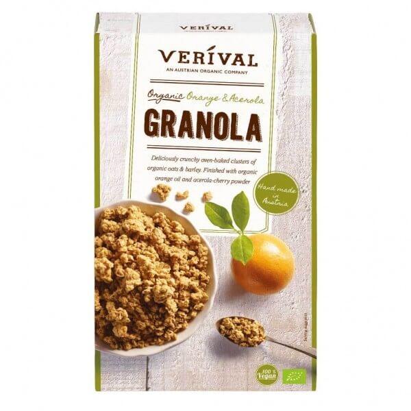 Verival Orange-Acerola Granola