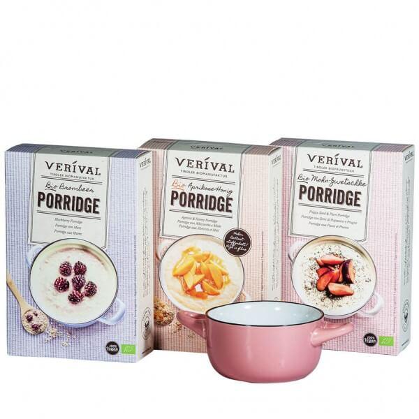 Verival Geschenkset klassischer Porridge rosa