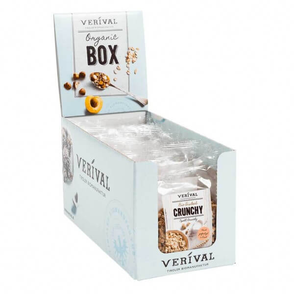 Verival Cereal-Box Dinkel Crunchy 8x 70g