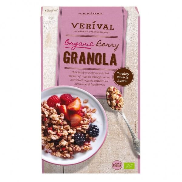 Verival Berry Granola